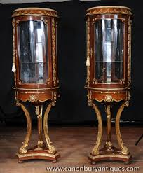 Glass Display Cabinet Craigslist Photo Of Pair French Vitrines Glass Display Cabinets Bijouterie