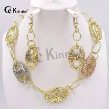 african necklace earrings images Fashion jewelry african nigeria dubai 18k gold plated necklace jpg