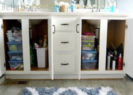 how to organize your bathroom cabinets life gets organized