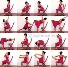 Chair Yoga Poses 232 Best Chair Yoga Images On Pinterest Chair Yoga Chair