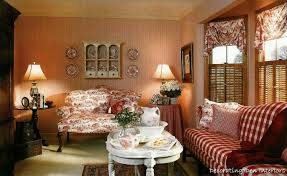 Brown Red And Orange Home Decor Interior Fancy Country Red Living Room Featuring Red Sofa With 2