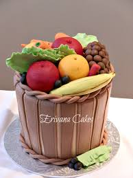 basket of fruits basket of fruits and vegetables just kidding it s a cake