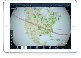 america map for eclipse navigation system plan your 2017 solar eclipse experience using foreflight custom
