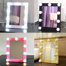 Ikea Mirror Vanity Vanities Led Bulb Vanity Lighted Hollywood Makeup Mirror With