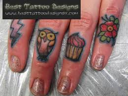 best finger tattoo designs 3 tattoos book