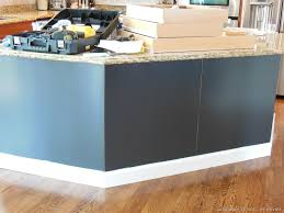 painted kitchen island