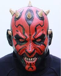 Halloween Rubber Masks F S Ogawa Studio Darth Maul Full Face Rubber Mask Cosplay Star