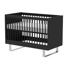 Orchard Sleigh Cot Toddler Bed White Kidsmill Intense Roomset Matt Black Babylicious Hoylake