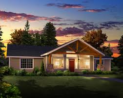 Small And Modern House Plans by Open Floor Plans One Level Homes
