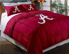 Alabama Bed Set Ncaa Alabama Crimson Tide Comforter Locker Room Series Signs