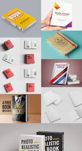 50 free realistic book mockup psd on behance