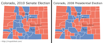 County Map Of Colorado Analyzing The 2010 Colorado Senate Election Shadowproof
