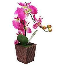 artificial orchids decorative synthetic purple silk artificial