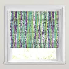 Aubergine Roman Blinds Aubergine Lime Turquoise U0026 White Aztec Patterned Roman Blinds