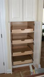 kitchen pull out cabinet best 25 pull out pantry ideas on pinterest kitchen storage