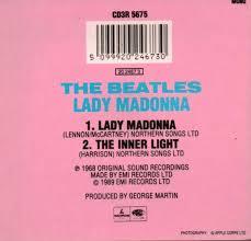 The Inner Light Beatles Cd Singles The Beatles Lady Madonna The Inner Light