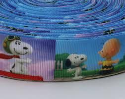 snoopy ribbon snoopy suspenders etsy
