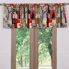 Rustic Curtains And Valances Rustic Lodge Bear And Moose Quilt Set