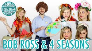 diy bob ross halloween costume the four seasons hgtv handmade
