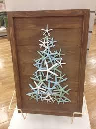 diy beach inspired holiday decoration ideas starfish christmas