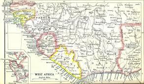 Ivory Coast Map Ivory Coast 112 1936 U2013 A Stamp A Day