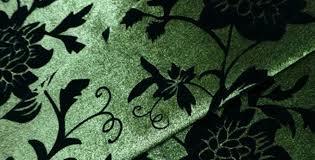 Green Velvet Upholstery Fabric Sofa Fabric Upholstery Fabric Curtain Fabric Manufacturer Floral