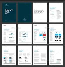 style guide template indesign free logo download
