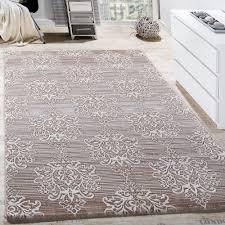 teppich für wohnzimmer teppich wohnzimmer floral muster abstrakt beige creme design teppiche