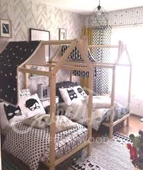 Child Bed Frame Children Bed Play Canopy Nursery Toddler Bed