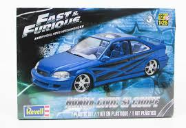 honda car models fast u0026 furious honda civic si coupe revell 85 4331 1 25 new car