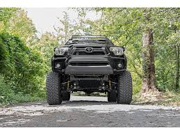 toyota tacoma light bar roof mount 70543 rough country 40 inch curved led light bar roof rack mounts
