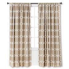 trellis curtain panels mesmerizing and brown trellis pattern