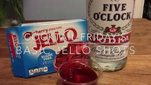 cocktail friday u0027s basic jello shots youtube