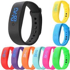 silicone bracelet watches images Led wrist watches thetrendybase jpg