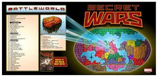 Marvel Universe Map Aicn Comics Reviews Marvel U0027s Secret Wars Brian K Vaughan U0027s We