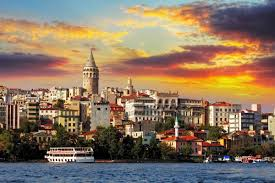 online get cheap coastal fabric aliexpress com alibaba group istanbul turkey coastal cityscapes wall art canvas fabric poster print for home decor room decoration