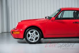 porsche 964 wide body 1994 porsche 964 carrera 4 widebody rare 1 of 238 built red black