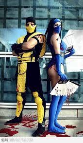 Mortal Kombat Scorpion Halloween Costume Masquerade Halloween Costumes 101 Classy Women U0027s