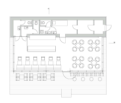 sketch up floor plan modern coffe shop with nature surrounding in slovakia น าทำ