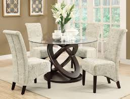 Glass Dining Room Table by Red Barrel Studio Acres 5 Piece Wood Glass Dining Set U0026 Reviews