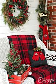 Christmas Decorations Outdoor Ideas - best 25 christmas porch ideas on pinterest christmas porch