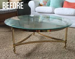 Coffee Table Store The Craft Patch Brass Coffee Table Makeover