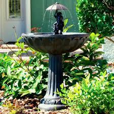 rock garden fountains u0026 ponds backyard design ideas