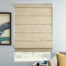 premier light filtering cord free roman shades selectblinds com