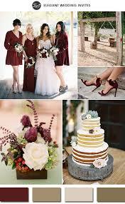wedding color schemes pantone color of the year 2015 marsala wedding color schemes