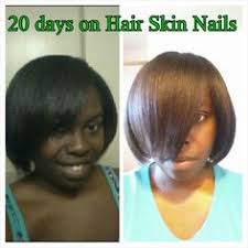 it works hair skin and nails results after 20 days call or text