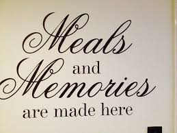 quotes for the home home sweet home pinterest kitchens wall quote sticker decal meals memories in home furniture diy home decor wall decals stickers