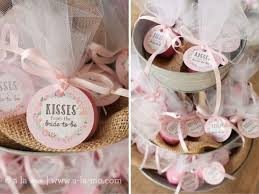 bridal luncheon favors rustic pink bridal shower kisses from the to be favors of