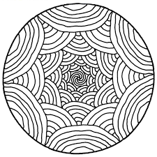 mandala simple rainbows mandalas coloring pages adults