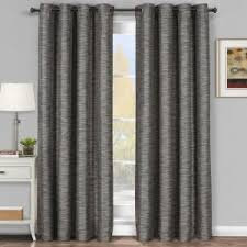 Grey Faux Suede Curtains Decor Faux Suede Eyelet Curtains Beige For Modern Living Room